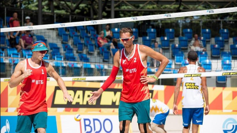 Подмосковные спортсмены выиграли Кубок России по пляжному волейболу