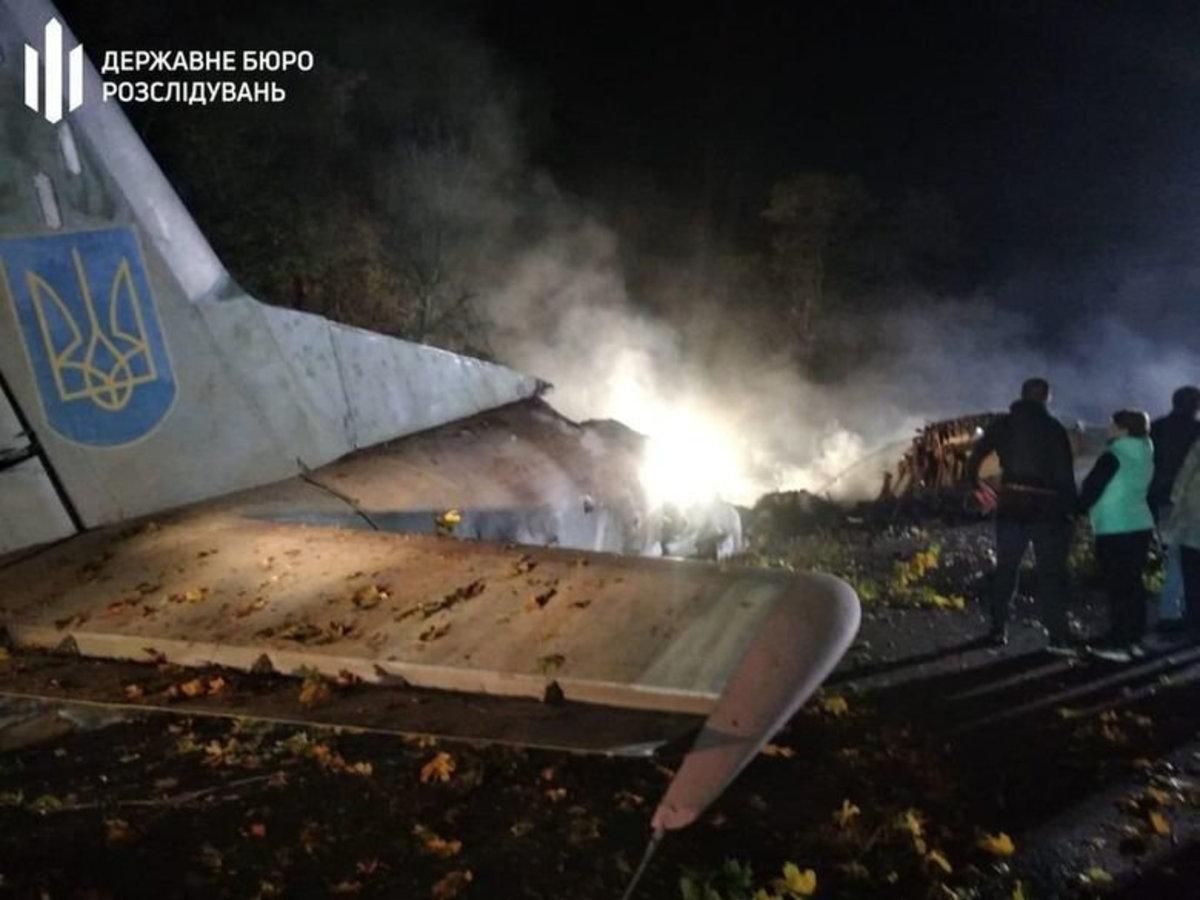 Последние секунды полета Ан-26 под Харьковом попал на видео