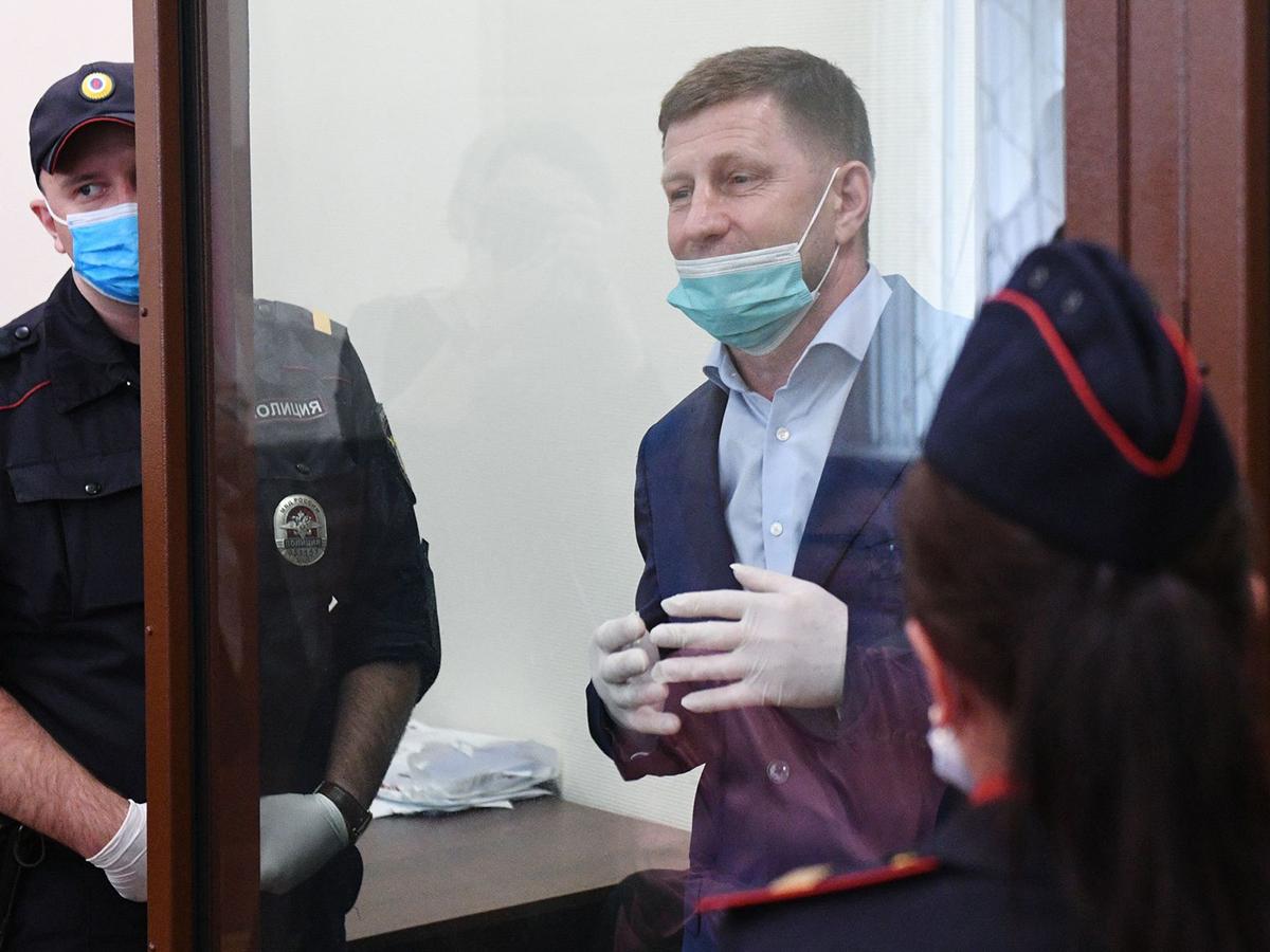 Потерпевшие по делу Фургала требуют взыскать с экс-губернатора 1,5 млрд рублей