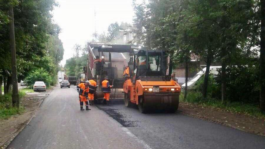 Ремонт дорог в Подмосковье завершили более чем на 98%