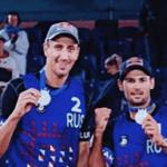 Россияне выиграли серебряную и бронзовую медали на Чемпионате Европы по пляжному волейболу