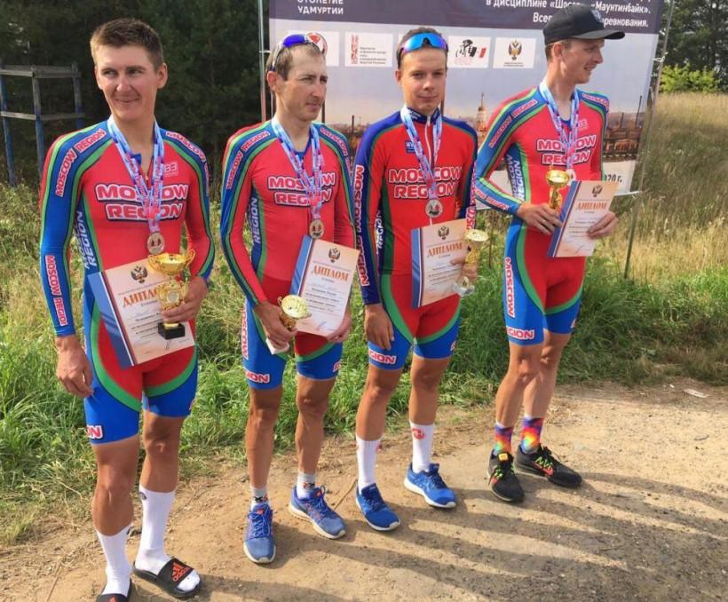 Сборная Московской области завоевала серебро на чемпионате России по велоспорту