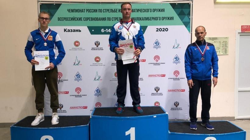Спортсмены из Подмосковья стали призерами чемпионата России по пулевой стрельбе