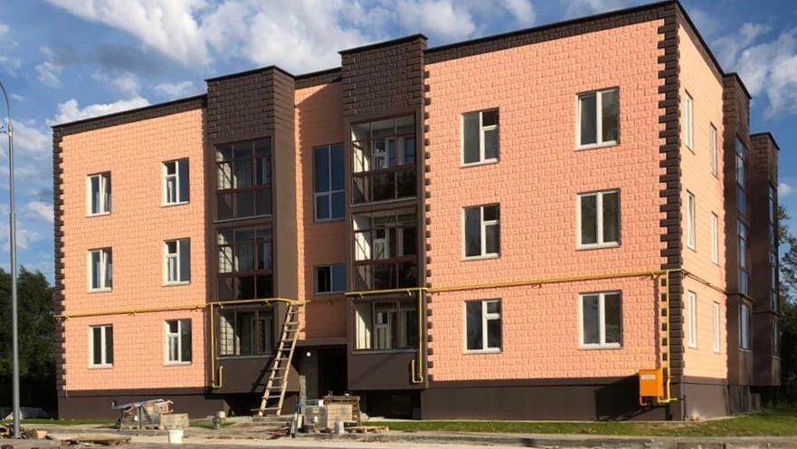 Строительство дома для переселенцев из аварийного жилья завершается в Егорьевске