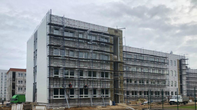Строительство школы на 825 мест в Электростали планируется завершить до конца года