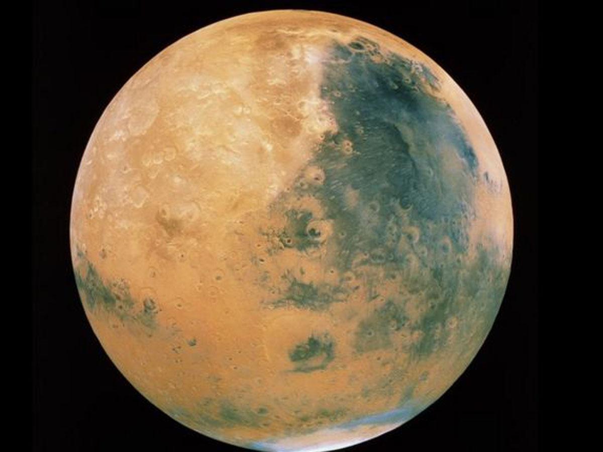 Ученые обнаружили на Марсе озера с жидкой водой