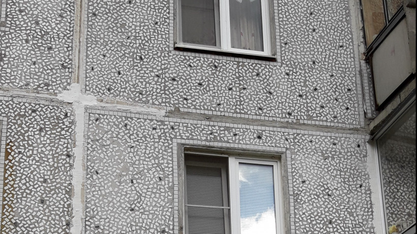 УК отремонтировала фасад дома в Королеве после вмешательства Госжилинспекции