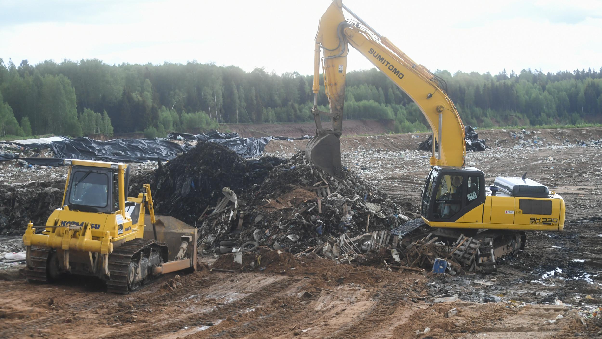 Губернатор рассказал о планах по закрытию мусорных полигонов в Подмосковье