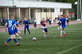 В спорткомплексе «Лужники» состоялось открытие XII Спартакиады среди федеральных органов государственной власти Российской Федерации