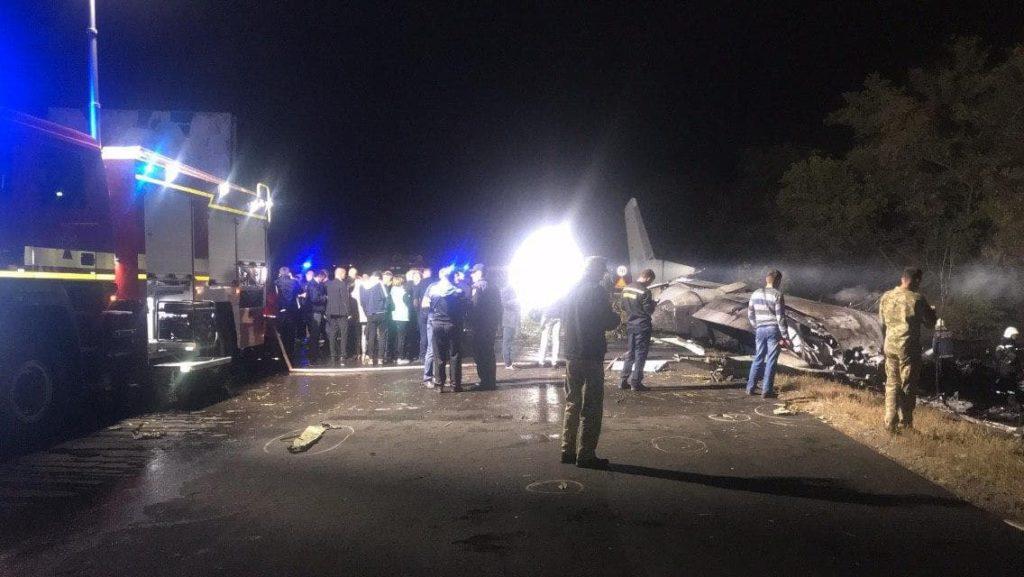 Вероятной причиной крушения Ан-26 под Харьковом стал отказ двигателя