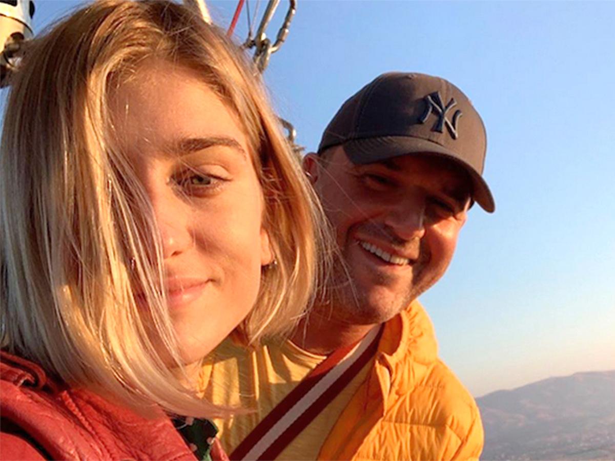Виторган и Нинидзе полетали на воздушном шаре