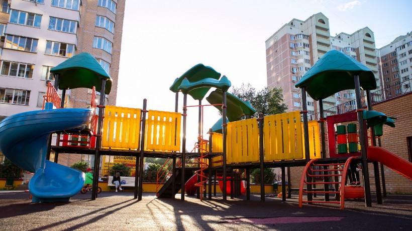 Все детские площадки проверили в 16 округах Подмосковья на прошлой неделе