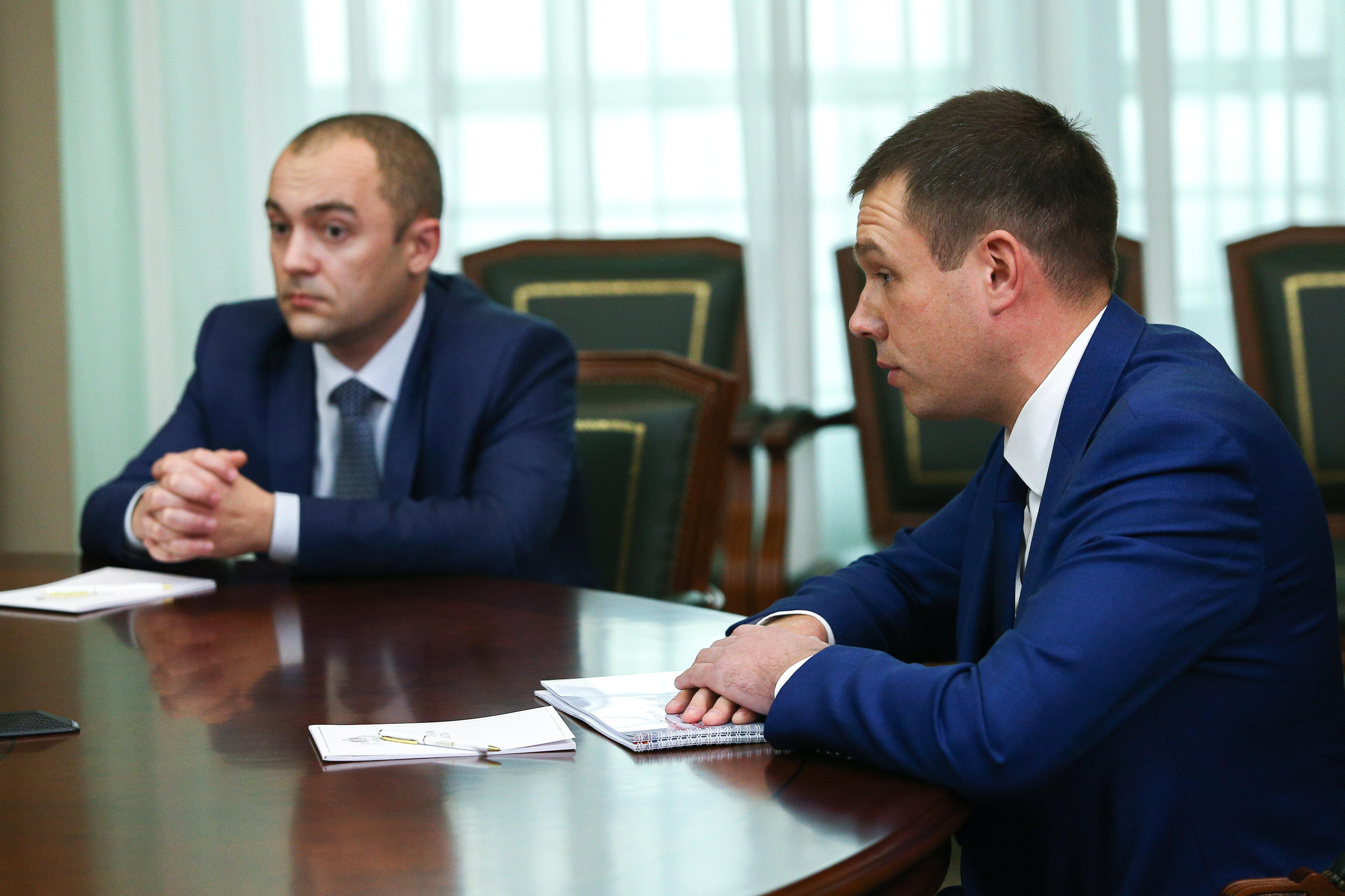 ВРИП главы городского округа Лыткарино Константин Кравцов