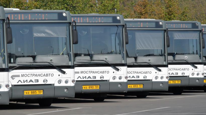 Более 190 тыс. литров антисептика ушло на обработку транспорта в Подмосковье за неделю