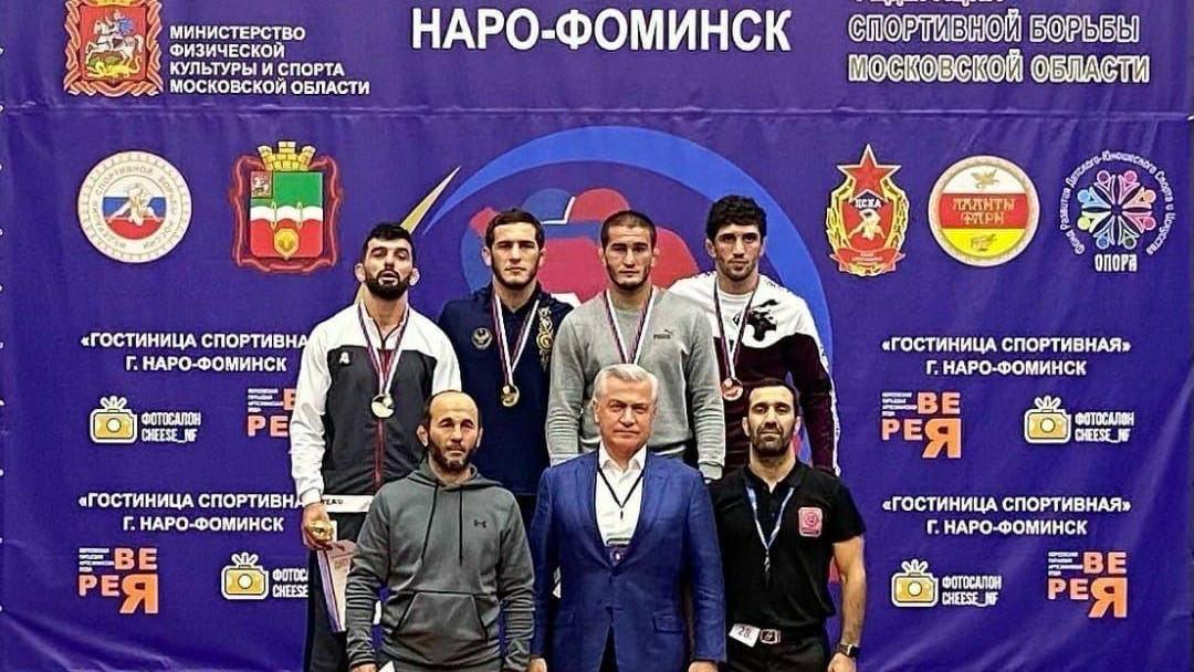 Борцы из Подмосковья завоевали 7 медалей на чемпионате России по вольной борьбе