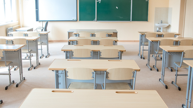 Учебный класс в новой школе