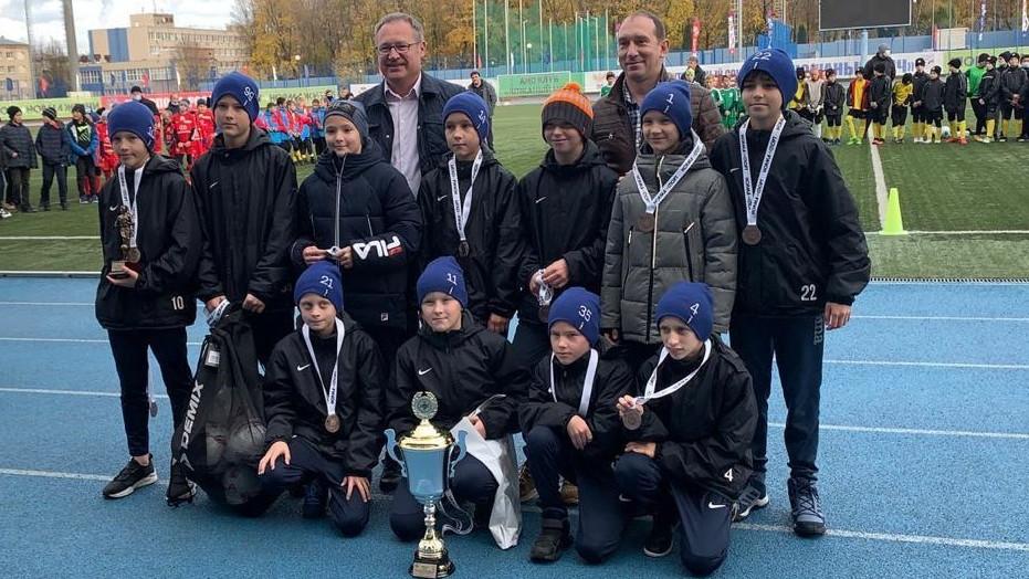 Детская команда из Дубны стала призером всероссийских соревнований «Кожаный мяч»