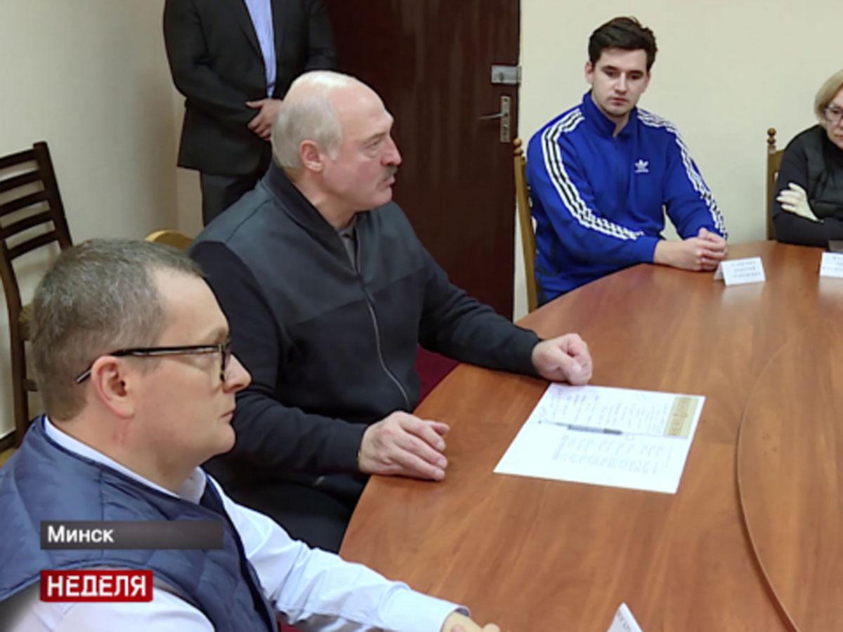"""""""Дима, организуй!"""": стали известны подробности встречи Лукашенко с оппозицией в СИЗО"""