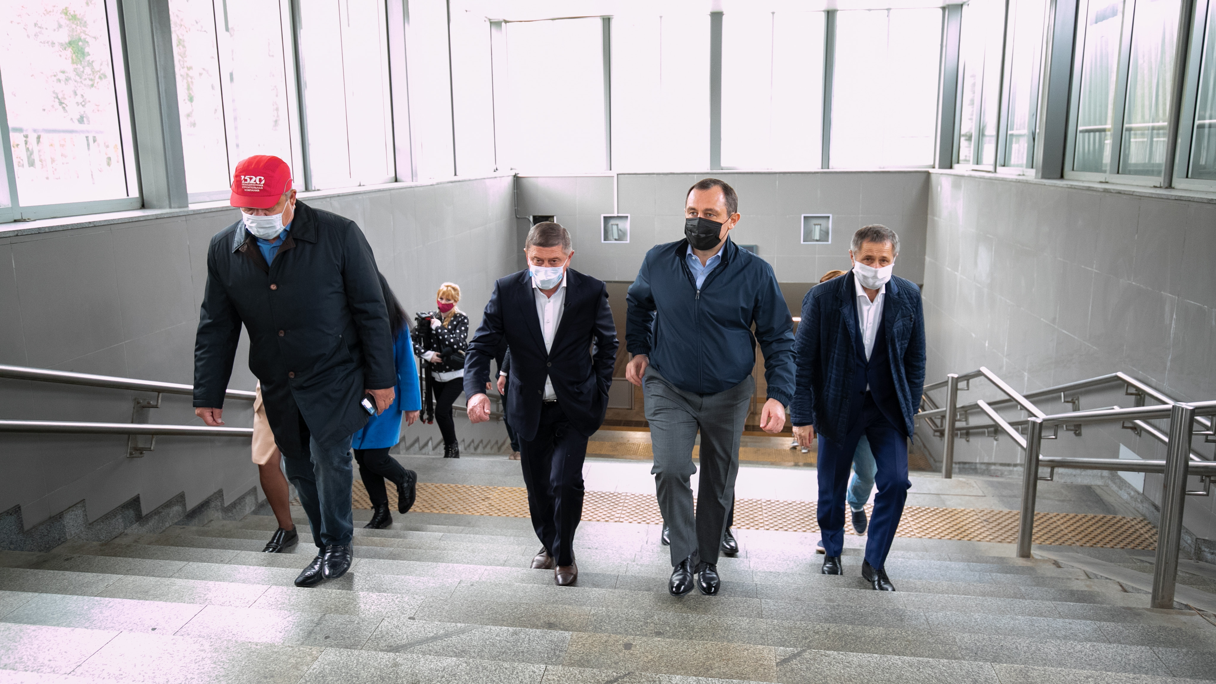 Игорь Брынцалов проверил соблюдение мер санитарно-эпидемиологической безопасности на станции «Реутово»