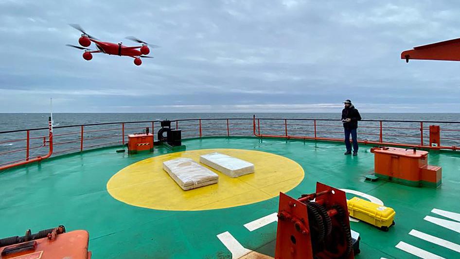 Дроны подмосковного производителя будут использовать для исследования Арктики