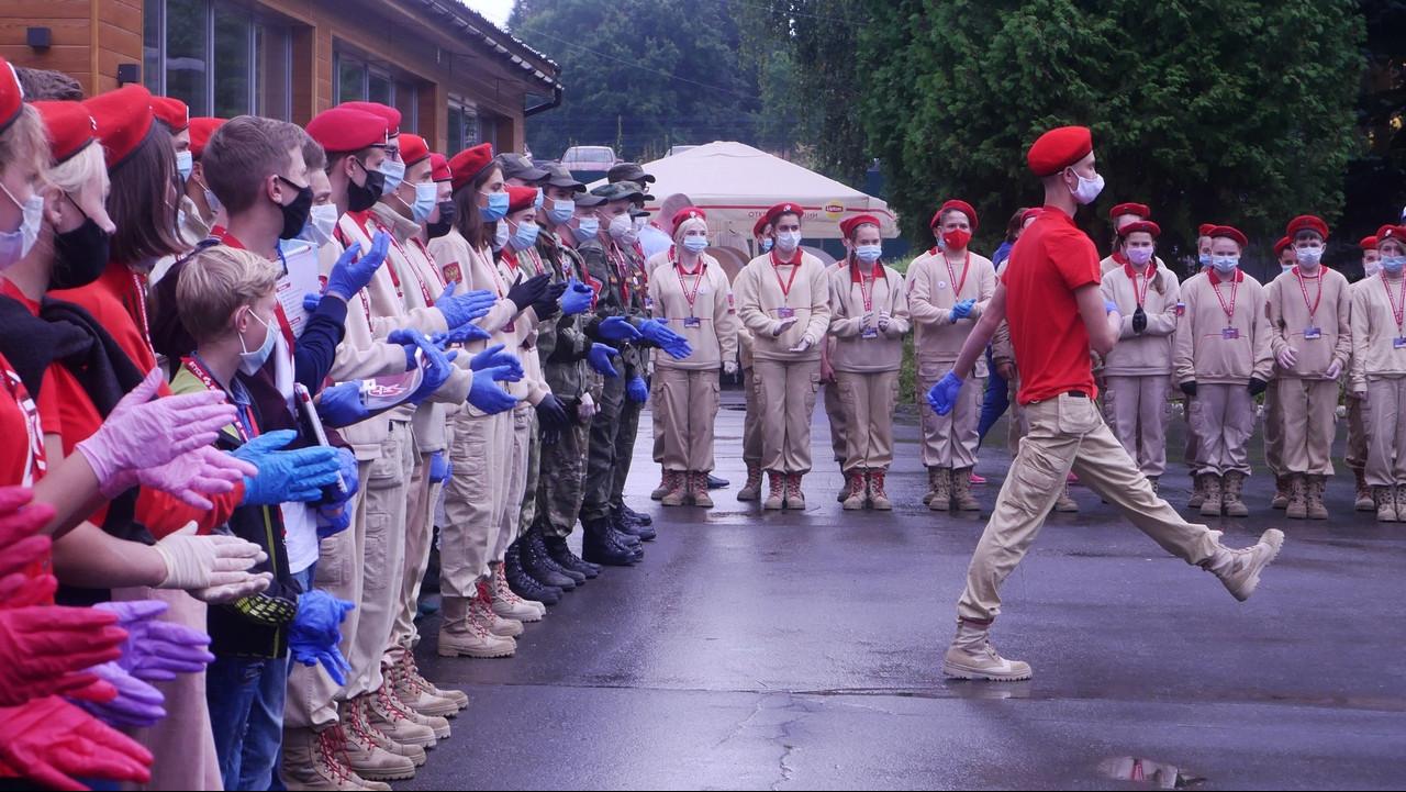 Двести пятьдесят подростков стали участниками «Юнармии» Подмосковья в минувшие выходные