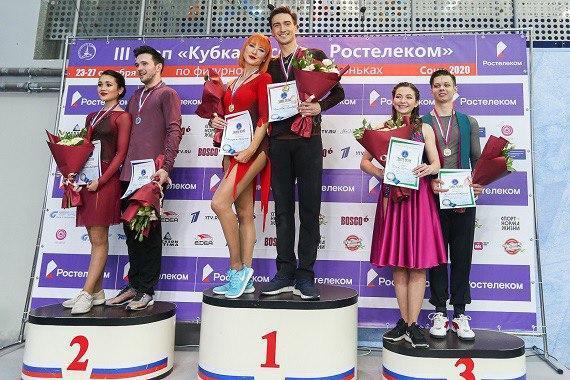 Елизавета Худайбердиева завоевала серебряную медаль на III этапе Кубка России по фигурному катанию