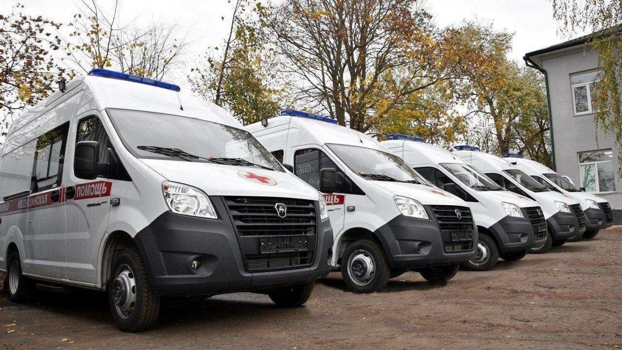 Еще 28 автомобилей поступило на Московскую областную станцию скорой помощи