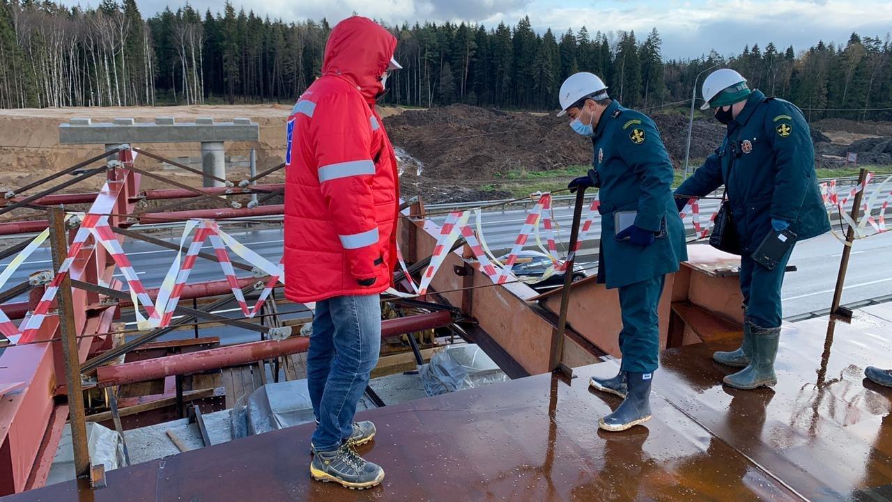 Главгосстройнадзор проверил ход строительства транспортной развязки в Солнечногорске