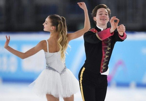 Ирина Хавронина и Дарио Чиризано победили на III этапе Кубка России по фигурному катанию