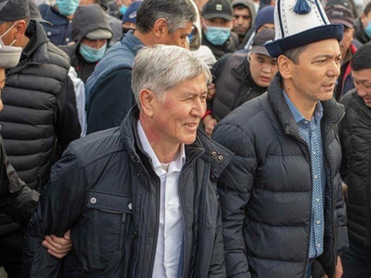 Экс-президента Киргизии Атамбаева задержали за организацию массовых беспорядков