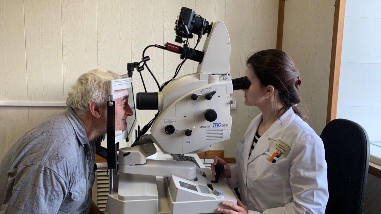 Новое оборудование для диагностики зрения поступило в медорганизации Подмосковья