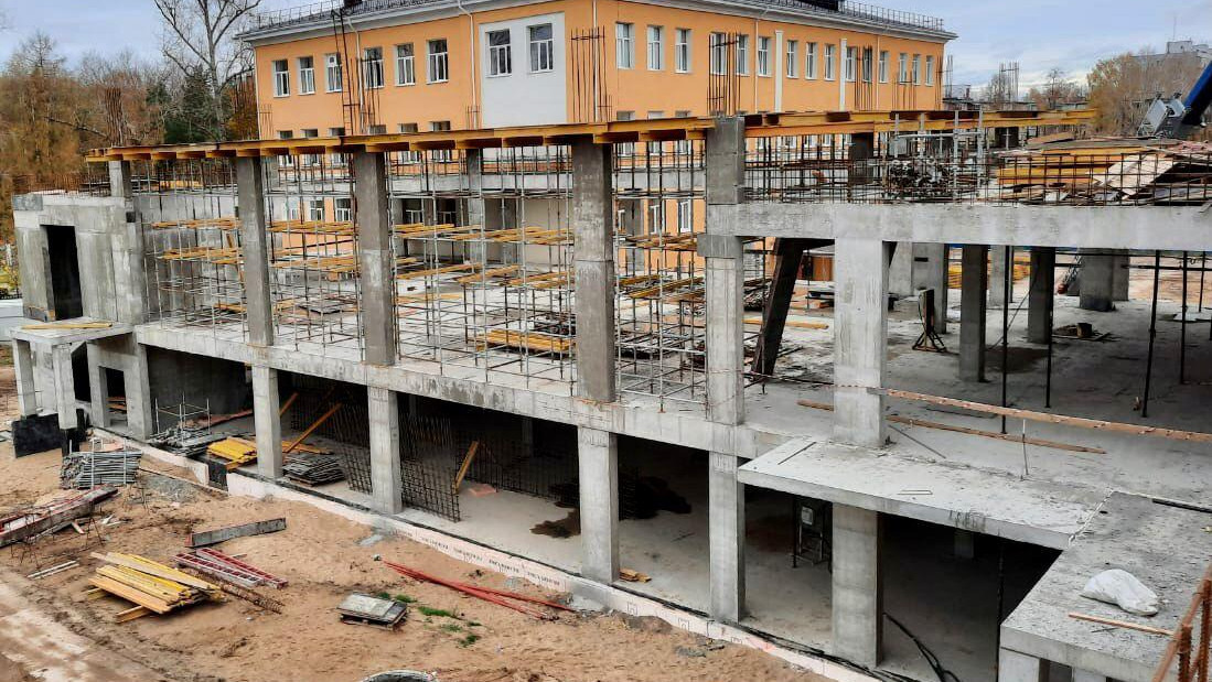 Новый корпус гимназии №2 «Квантор» откроют в Коломне к 1 сентября 2021 года