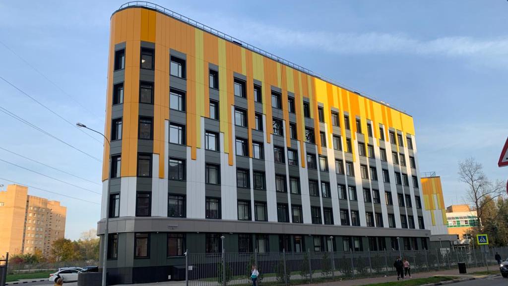 Новый корпус поликлиники достроили в Одинцове