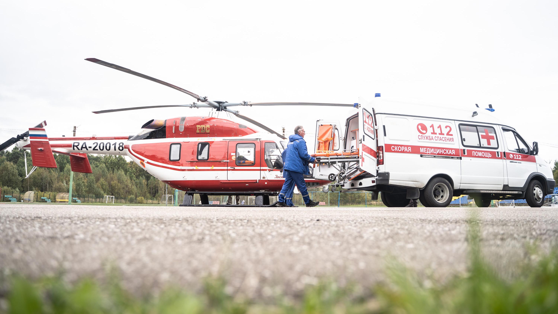 Около 500 вылетов совершила санитарная авиация Подмосковья с начала года