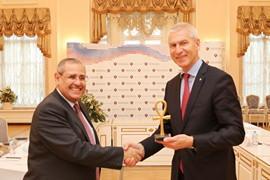 Олег Матыцин встретился с Послом Египта Ихабом Насром