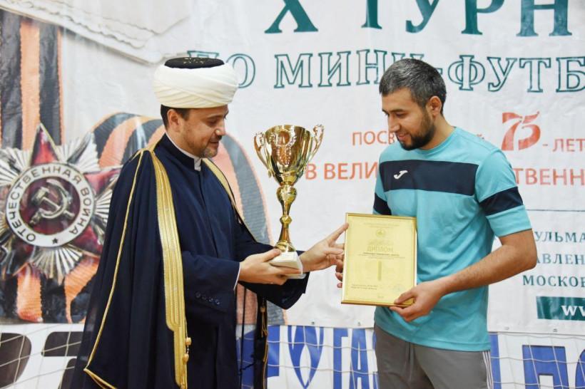 Определились призёры мини-футбольного турнира среди мусульманских общин Подмосковья
