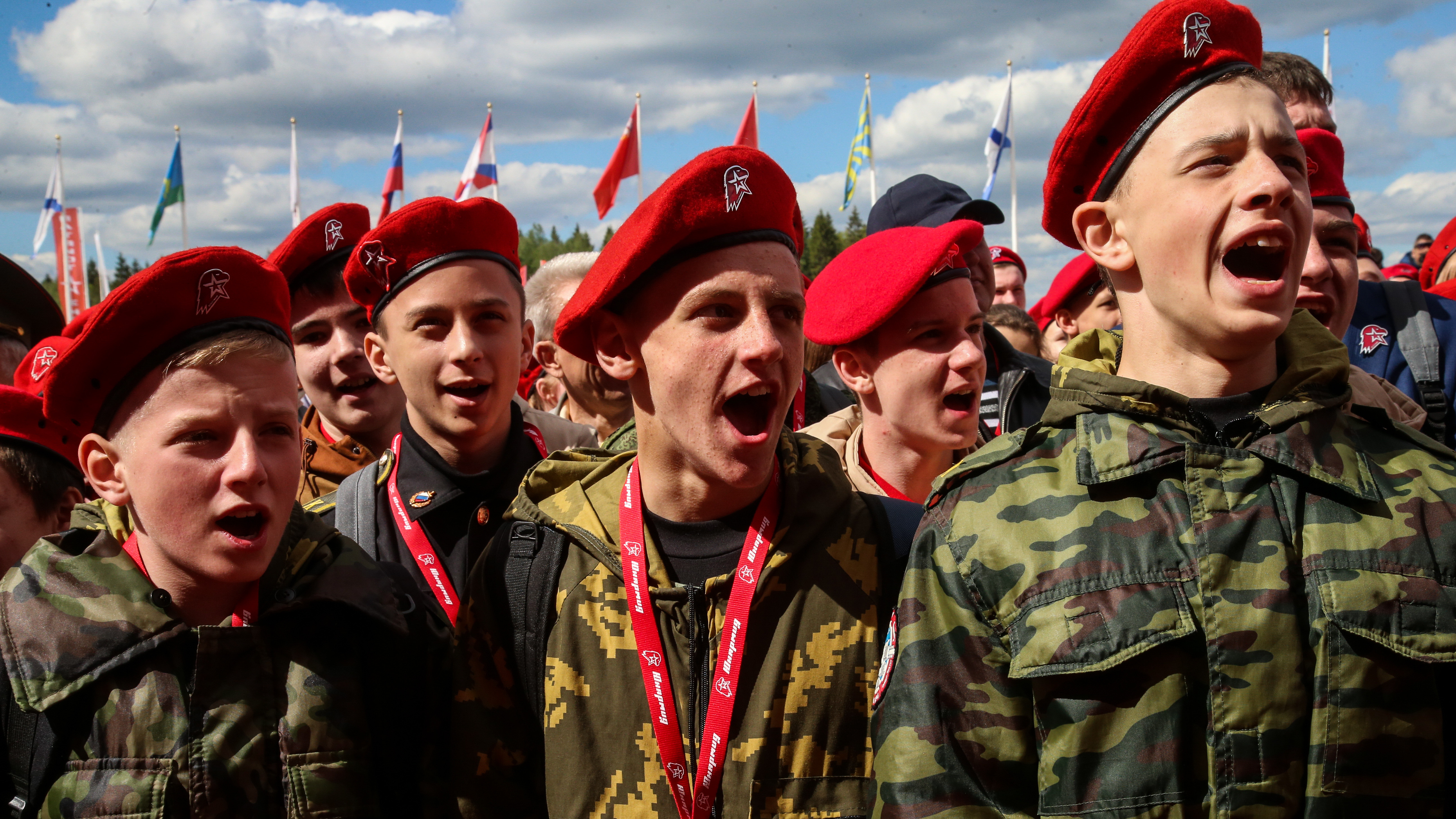 Подмосковное отделение «Юнармии» вошло в топ-5 по России