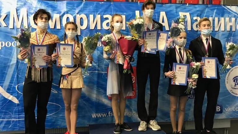фигуристы Василиса ГригорьеваиАртем Фролов