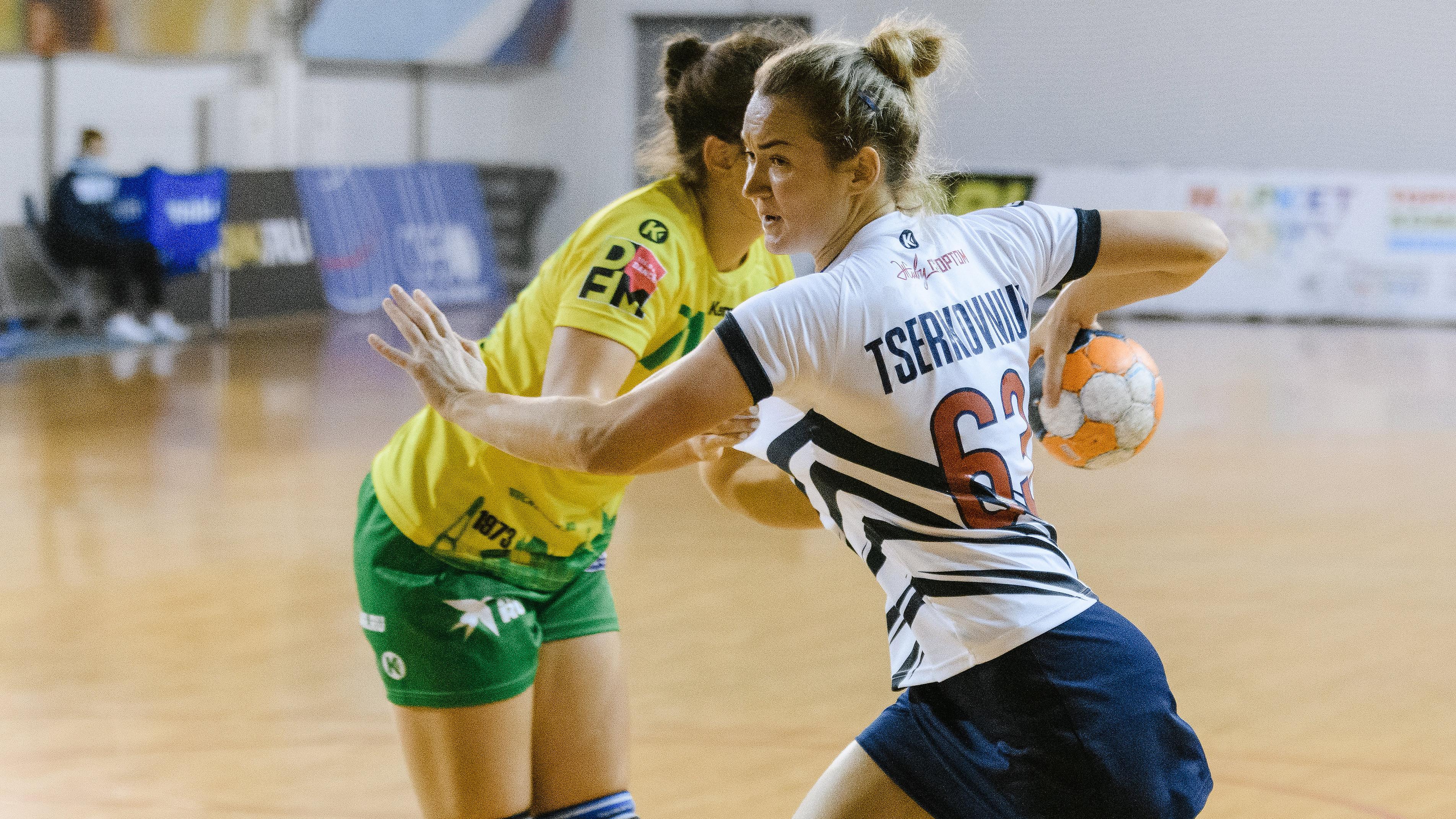 Подмосковные гандболистки победили команду из Краснодара в чемпионате России