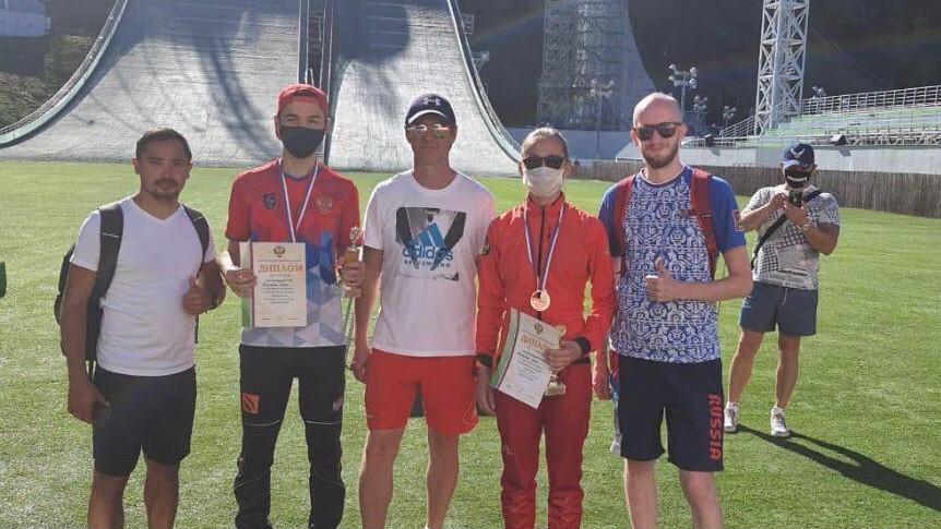 Подмосковные лыжники завоевали бронзовые медали чемпионата России по прыжкам с трамплина