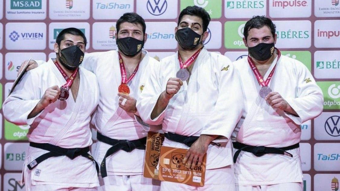 Подмосковный спортсмен завоевал золото на турнире «Гран-шлем» по дзюдо