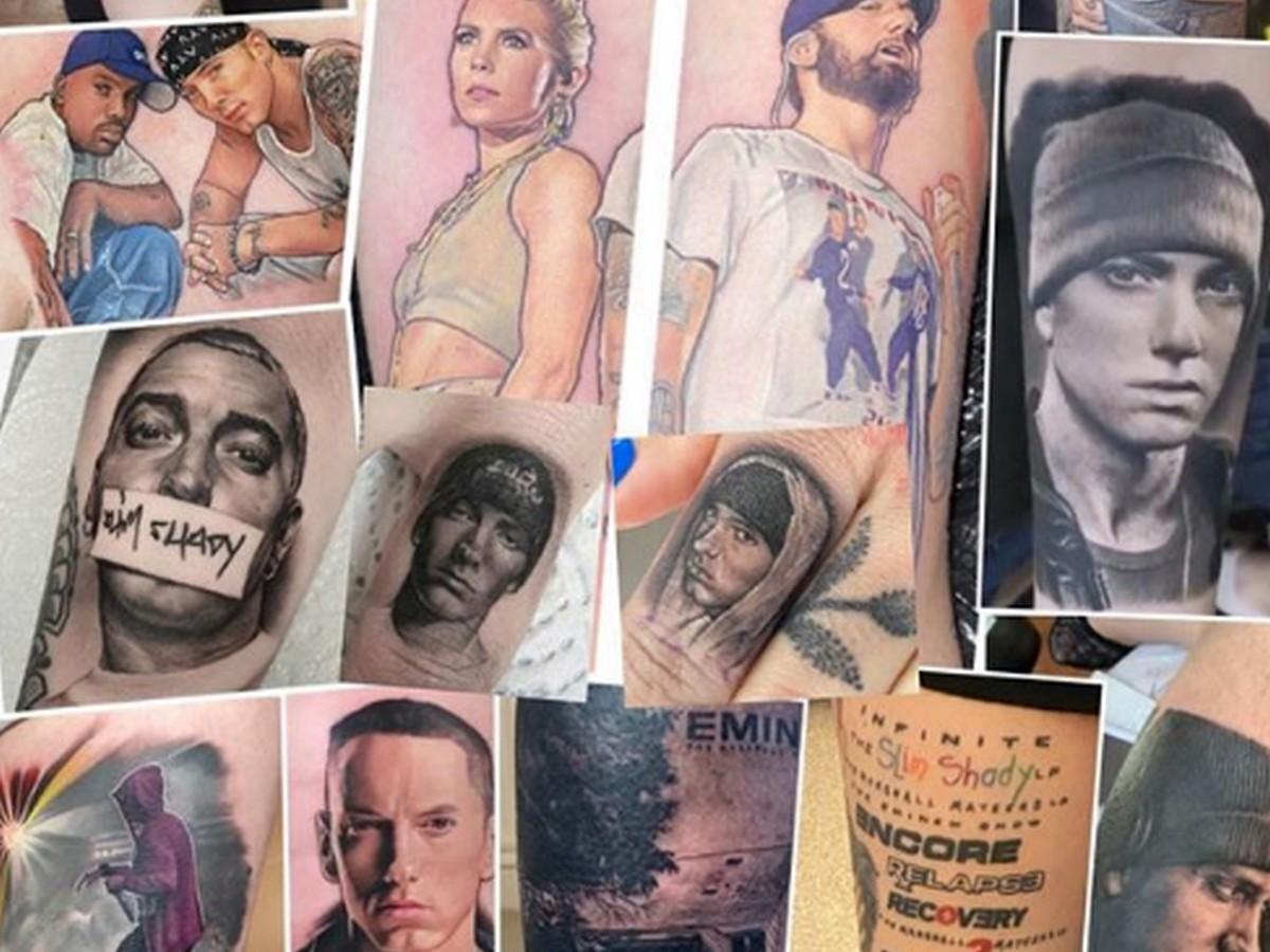 Поклонница Эминема вошла в Книгу рекордов за тату с его изображением