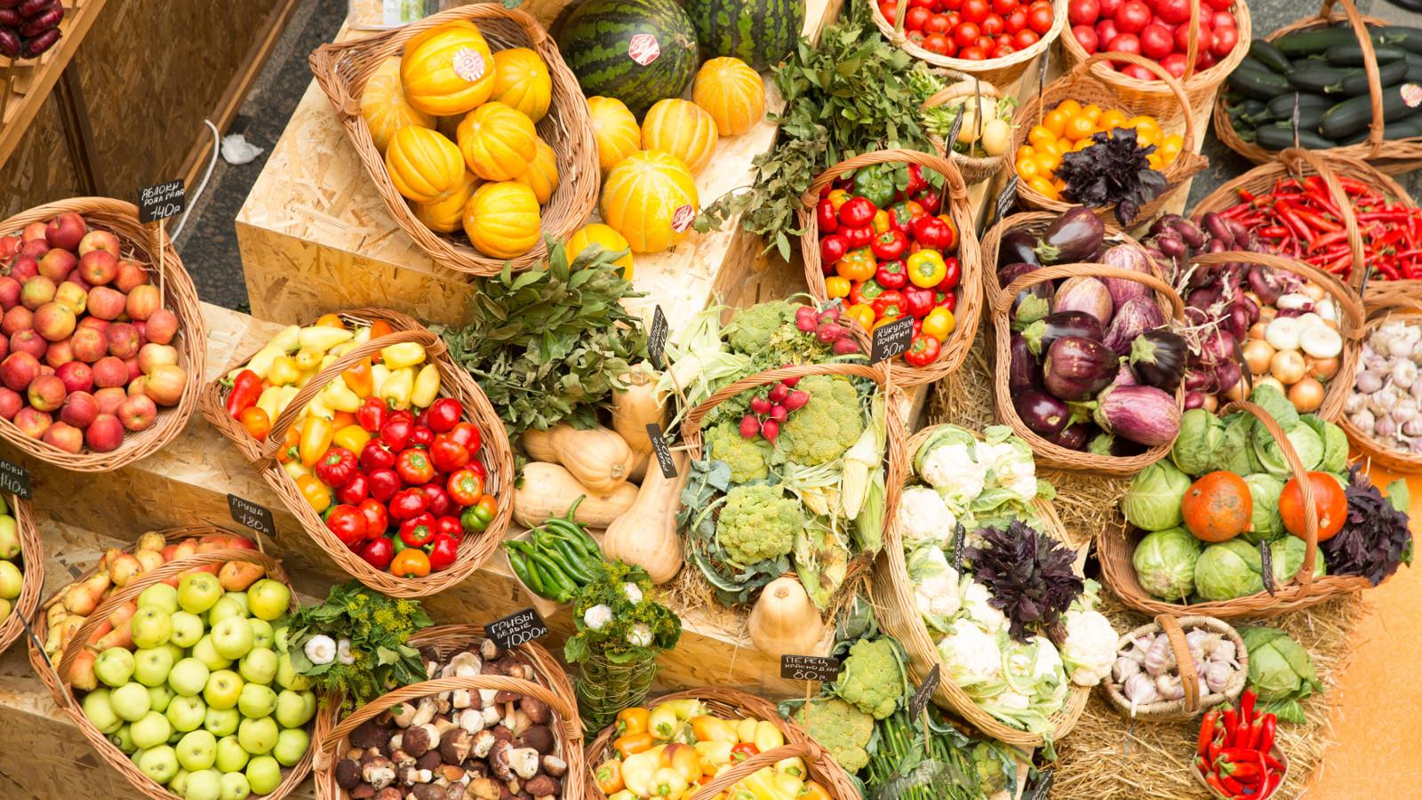 Порядка тонны овощей и фруктов продали на ярмарке «Ценопад» в Зарайске