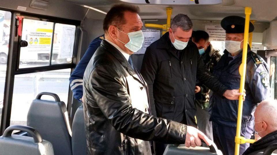 Работу автобусов проинспектировали в Люберцах