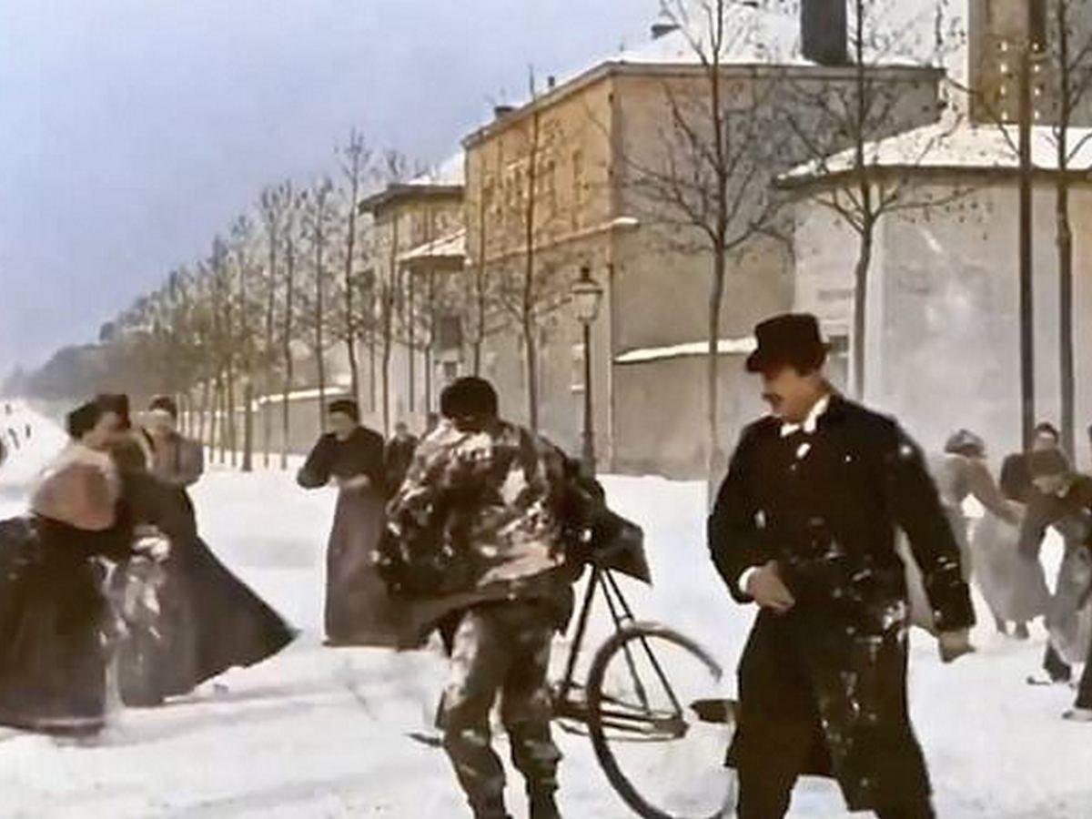 Раскрашенная версия 124-летнего фильма братьев Люмьер собрала 8 млн просмотров