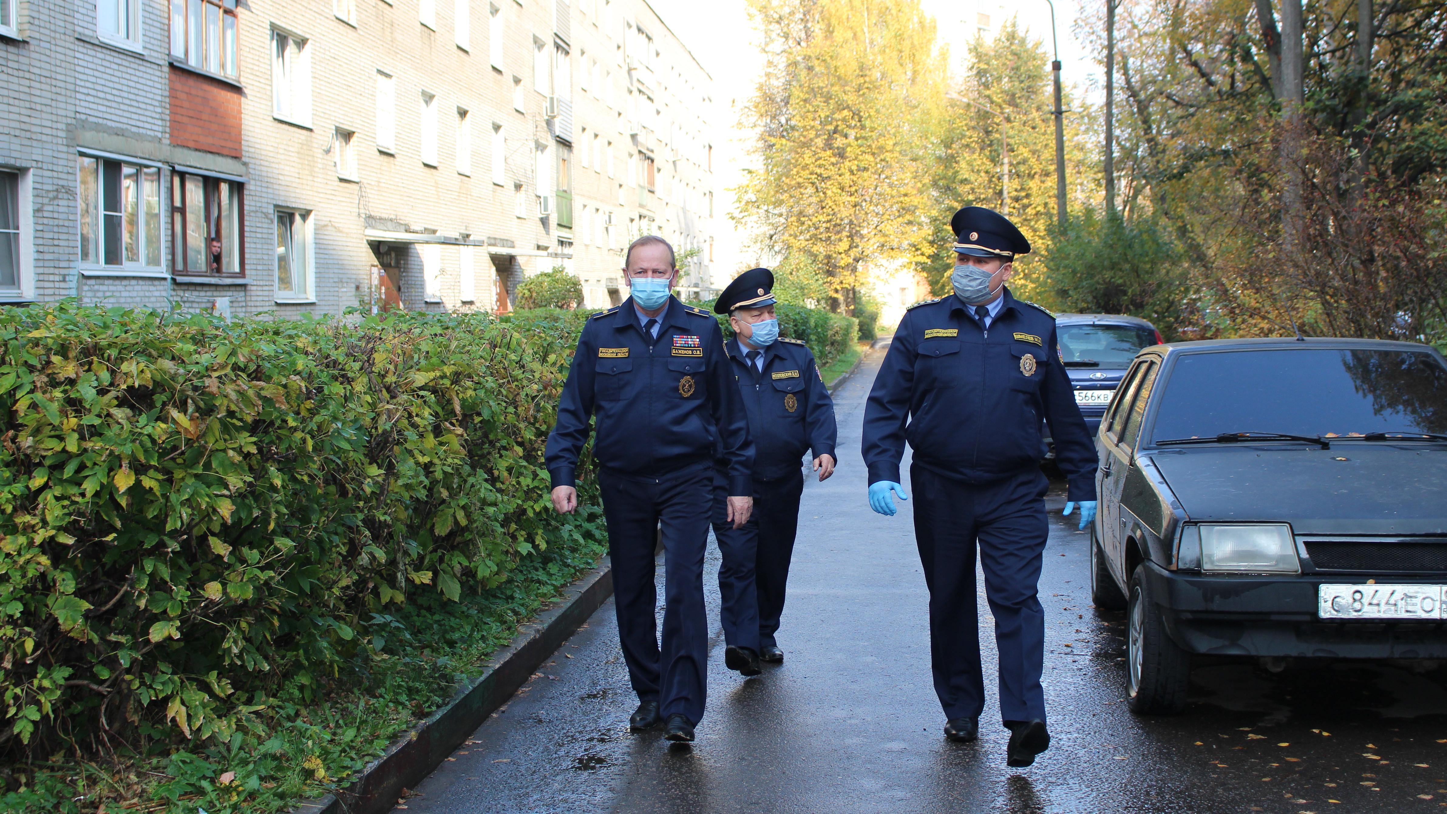 Руководитель Госадмтехнадзора Подмосковья проинспектировал городской округ Домодедово