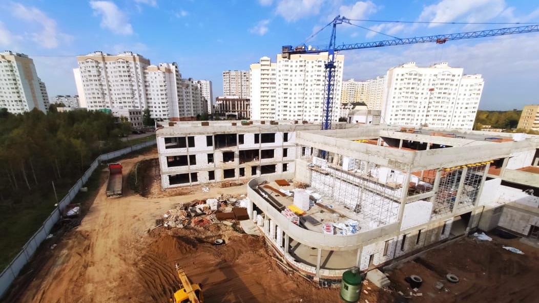 Школу в микрорайоне Рекинцо-2 Солнечногорска откроют к новому учебному году