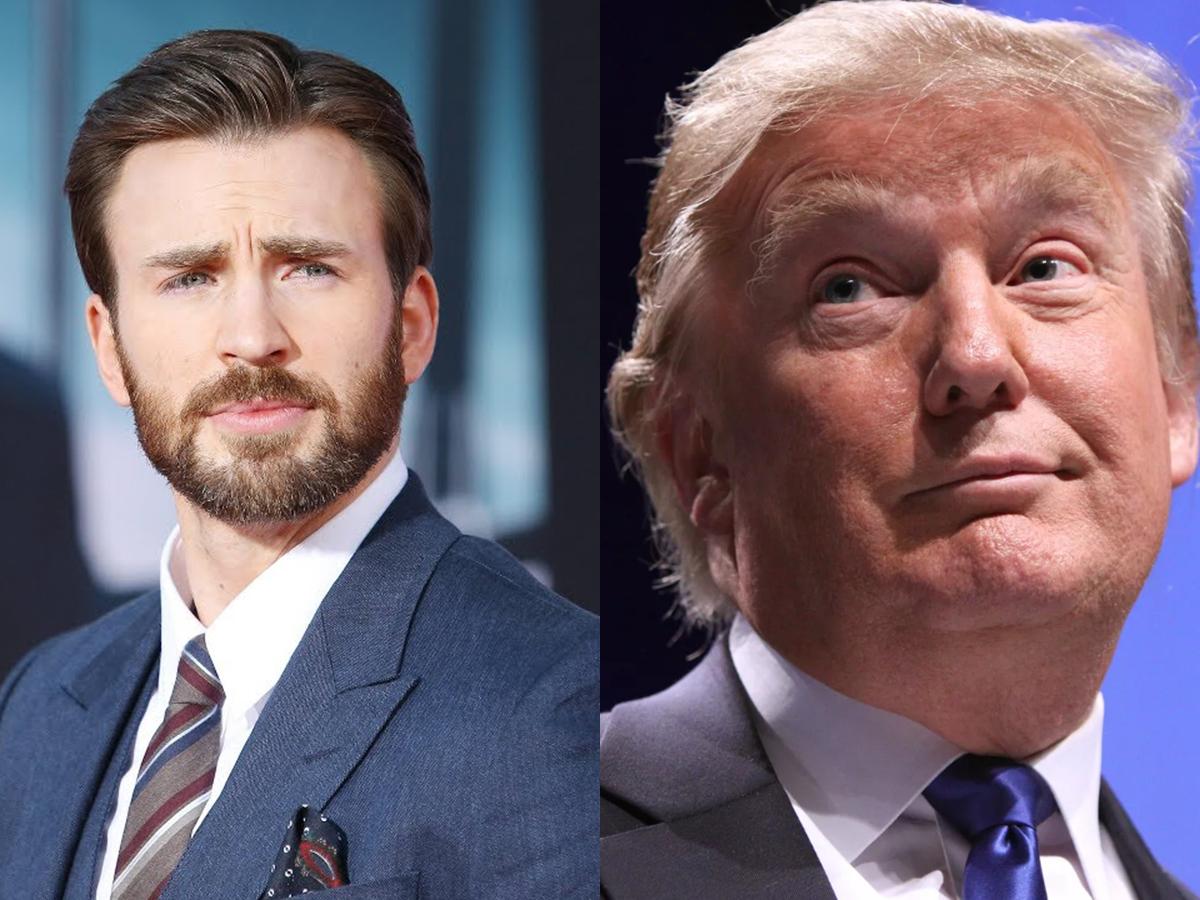 """""""Сказал, как Капитан Америка"""": актер Крис Эванс раскритиковал призвавшего не боятся COVID-19 Трампа"""