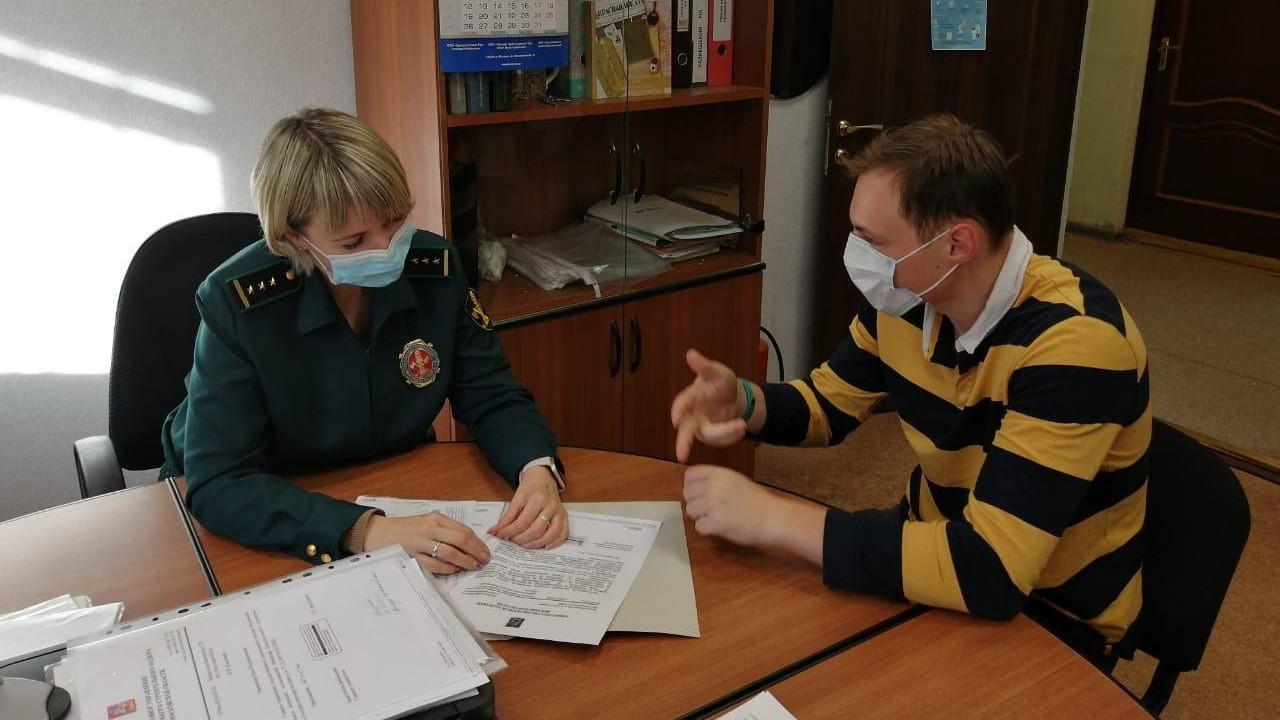 Сотрудники Главгосстройнадзора проведут прием жителей городского округа Мытищи 26 октября