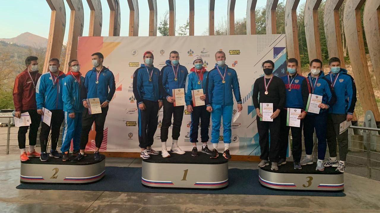 Спортсмены из Подмосковья завоевали две бронзовые награды на первенстве России по бобслею